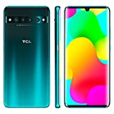 TCL 10 Pro Unlocked Android Smartphone with 6.47' AMOLED FHD + Display, 64MP Quad Rear Camera System, 128GB+6GB RAM, 4500mAh Fast Charging Battery - Forest Mist Green