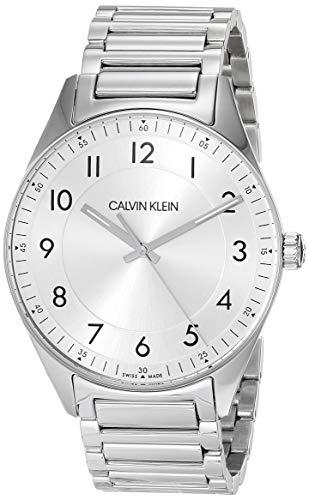 Calvin Klein Bright - Reloj analógico de pulsera de acero inoxidable para hombre