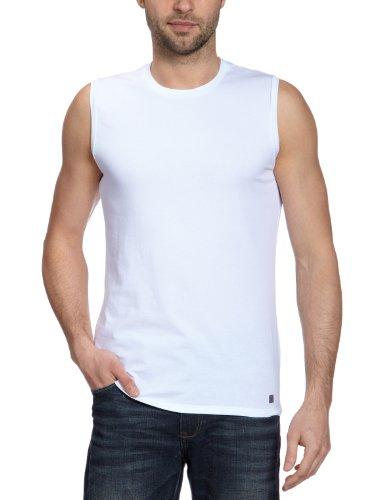 Fila Herren He. Hemd Cotton Superior T-Shirt, Weiß (weiß 003), 48/50 (M)
