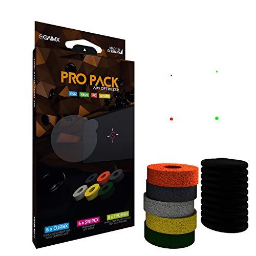 GAIMX Pro Pack - CURBX Probierset + SNIPEX + THUMBX in einem starken Paket - Zielhilfe und Aimoptimierung - Profi-Zubehör für PS3, PS4, PS5 und Xbox