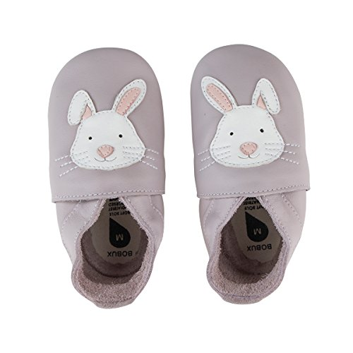 Bobux Rabbit Lilac Leather Medium/9-15 Months