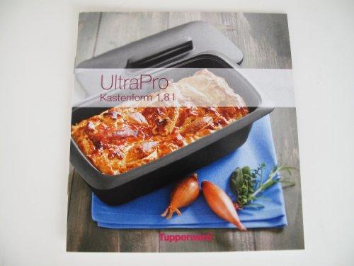 TUPPERWARE Rezeptheft 1,8L Kastenform Ultra Pro Kochheft kochen Rezepte Deutsch