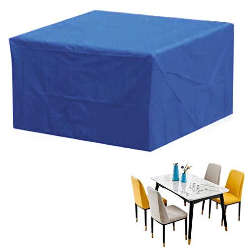 ZCED Funda Muebles Jardin Impermeable Cubierta De Exterior Funda Patio Protectora Muebles Funda Mesa Jardin Resistente Al Polvo Anti-UV para Sofa Al Aire Libre Mesa Y Sillas,315x160x70cm(124x63x28in)