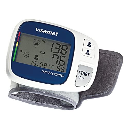 visomat handy express Handgelenk-Blutdruckmessgerät schnelle und sanfte Messung erkennt Vorhofflimmern