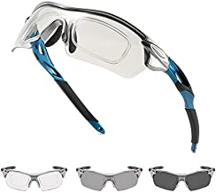 Photochromic Cycling Sunglasses For Men Safety Glasses Running Fishing Biking