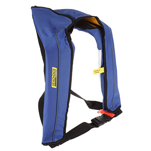 Great Features Of Seachoice 85810 Inflatable Personal Flotation Device (PFD) – Low-Profile Life Ve...