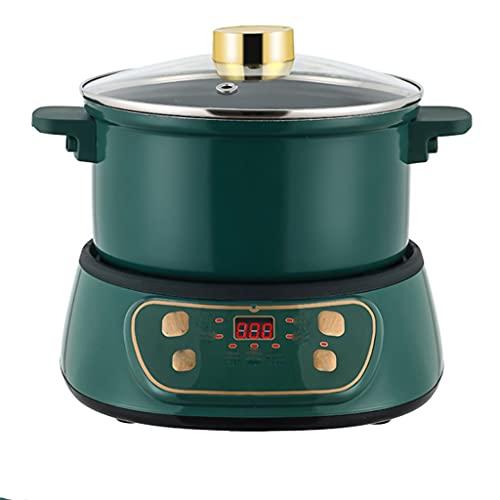 RongWang Vaporera eléctrica, Olla Todo en uno para cocinar y cocinar al...