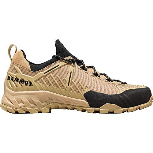 Mammut Herren Zapatilla ALNASCA Knit II Low Sneaker, Safari/Dark Safari, 42 2/3 EU