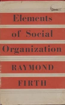 Hardcover Elements of Social Organization Book