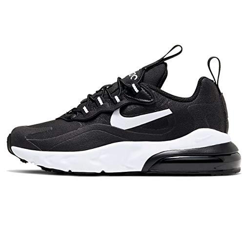 Nike Air Max 270 RT (PS), Chaussure de Course, Black White Black Black, 30 EU