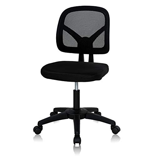Home Office Chair Mid Back Mesh Chair Height Adjustable...