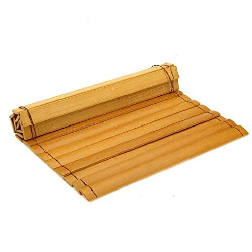 Servicio De Comida Coaster Madera Natural Couch Mantel Portátil Plegable Snack-decoración del Hogar De La Tabla del Cojín del Sofá Apoyabrazos Bandeja Anti Slip