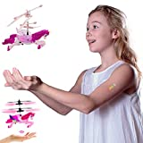 Flying Unicorn Drone Kids Toy - Hand Controlled Infrared Induction RC Helicopter
