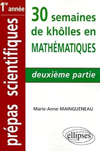 Mathématiques : 2e partie