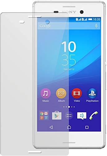 dipos I 2X Schutzfolie matt kompatibel mit Sony Xperia M4 Aqua Folie Bildschirmschutzfolie