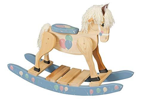 u&h Caballo balancin balancin Caballo jugueteChilds de Madera del Caballo de oscilación Amish...