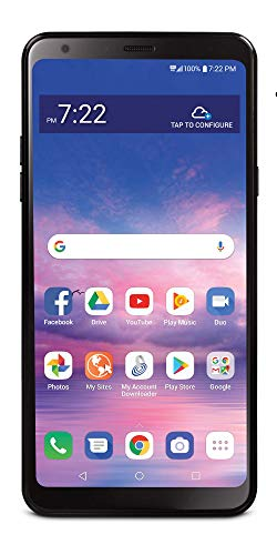 Total Wireless Carrier-Locked LG Stylo 5 4G LTE Prepaid Smartphone - Black - 32GB - Sim Card Included - CDMA Minnesota