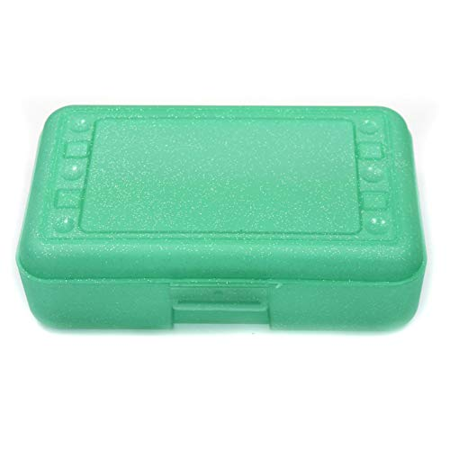 Romanoff Products ROM60285 Pencil Box44; Lime Sparkle