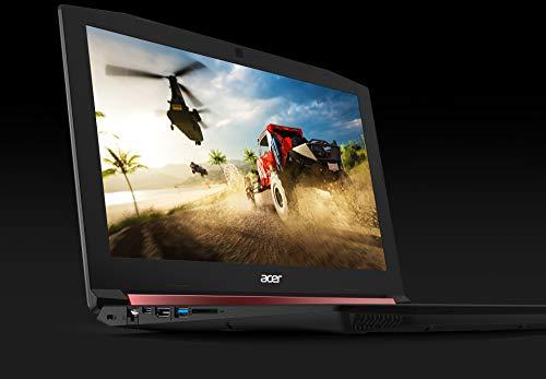 Acer Nitro 5 AN515-42-R6E7 Ordinateur portable 15,6' Full HD Noir (AMD Ryzen 5, 8 Go de RAM, SSD 128 Go + disque dur 1 To, AMD Radeon RX 560X, Windows 10)