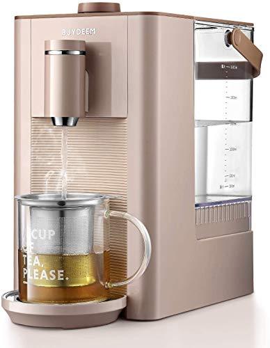 BUYDEEM S7133 Hot Water Boiler and Warmer, Fresh, Instant, Adjustable Temperatures, Great for Infant Formula, 2.6L, Pink