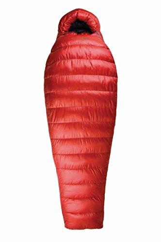 Sea to Summit Alpine AP II Sacco a Pelo con Cerniera a Destra, 012RL, Red, Regular Size