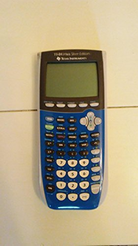 : Texas Instruments Inc. TI-84 Plus Silver Edition Blue Graphing Calculator (Packaging may vary)
