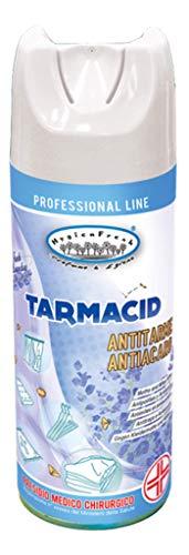 Tarmacid Profumo Deodorante Spray Antitarme Antiacaro Professionale Per Tessuti Ambienti Guardaroba Cassetti Lavanderia Insetticida Presidio Medico Chirurgico