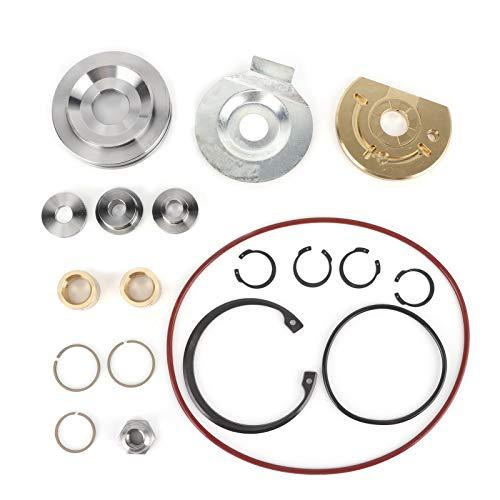Turbocharger Rebuild Repair Kit Turbo Rebuild Tools 14961016100 for S400 S410 S467 S471 S475 S476 S480 S483 S488 S400SX4-75 Turbo (18pcs)