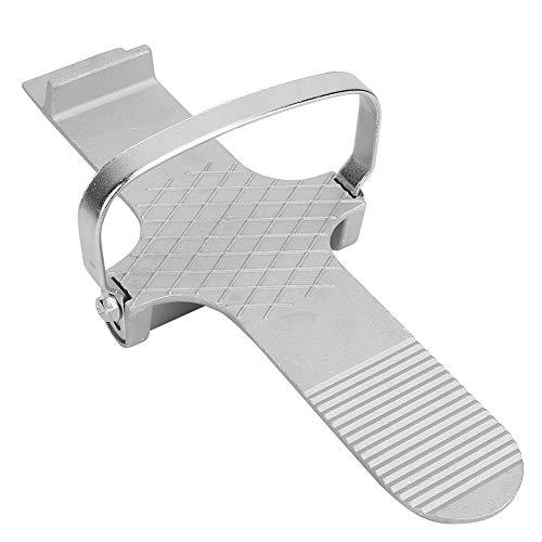 Herramienta de elevación de placa de aleación para pedal de pie de 30 x 5,6 cm para paneles de yeso y placas de yeso