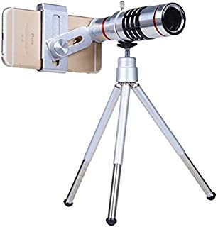 Mobile Phone Lens - 12X &18X Outdoor Telescope Mobile Phone Accessories Telephoto Phone Lens Camera Lens with Universal Me...