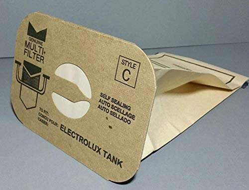 DVC Aerus Electrolux Allergy Micro Filtration Canister Style C Vacuum Cleaner Bags | Fits All Original Manufacturer Canisters/Tanks Part Numbers Made Since 1952 | Made in USA | 24 Count