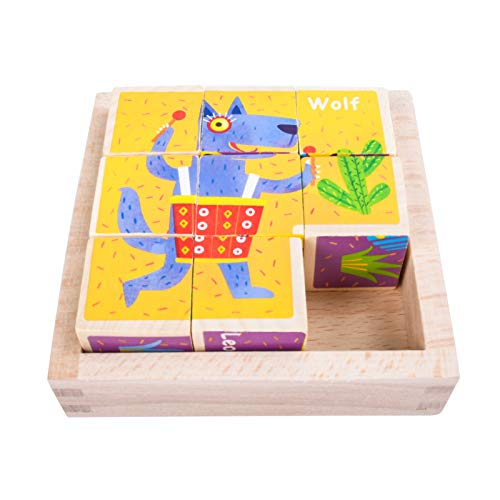 EKKONG Puzzles de Madera for Kids ,Animales Rompecabezas ,Juguetes Bebes, Jigsaw Wooden Puzzles Toy, Juguetes Montessori Puzzles,Juguetes niños 1 año 2 3 4 5 6 años , Best Birthday&Navidad Present