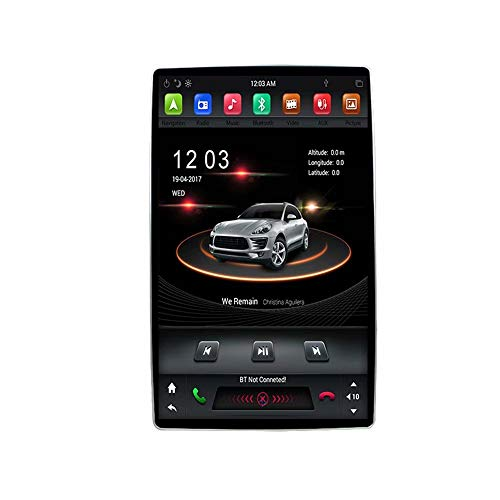 12.8Inch Indash Rotation Auto Radio GPS Navigation for Univeral Multimeida for Ford for Honda for Vw for Toyota for Jeep for Nissan Car Stereo IPS 3G WiFi Mirror Link RDS FM AM BT