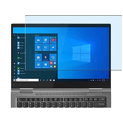 Vaxson Protector de Pantalla de Cristal Templado Anti Luz Azul, compatible con Lenovo ThinkPad X1 Yoga Gen 6 14 [solo área activa] 9H Película Protectora