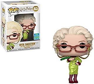 Funko Pop Harry Potter Rita Skeeter with Quill SDCC 2019 Shared Sticker Exclusive
