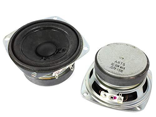 [訳あり特価]メジャーブランドOEM[超秘められた潜在能力2]フルレンジスピーカーユニット3インチ(77mm) 8Ω/MAX30W[スピーカー自作/DIYオーディオ]/1個