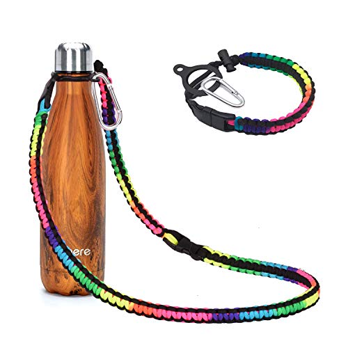 Wongeto Paracord Handle with Long Shoulder Strap Compatible with Swell,MIRA and...