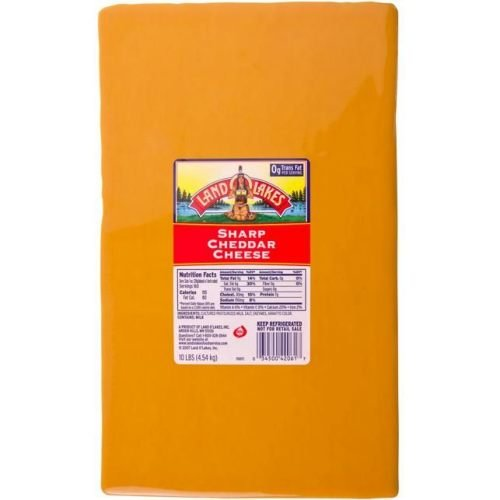 Land O Lakes High quality Deluxe Yellow Sharp Cheddar -- Cheese 1 10 each. Pound