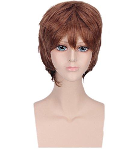 Perruque de prince avec bonnet pour garçon - Accessoire de cosplay