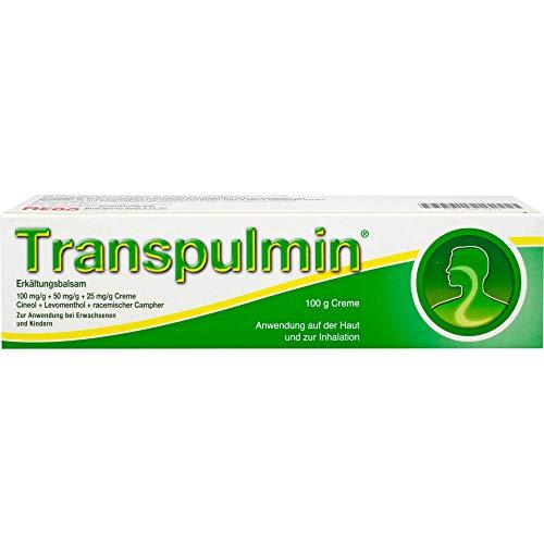 Transpulmin Erkältungsbalsam, 100 g Creme