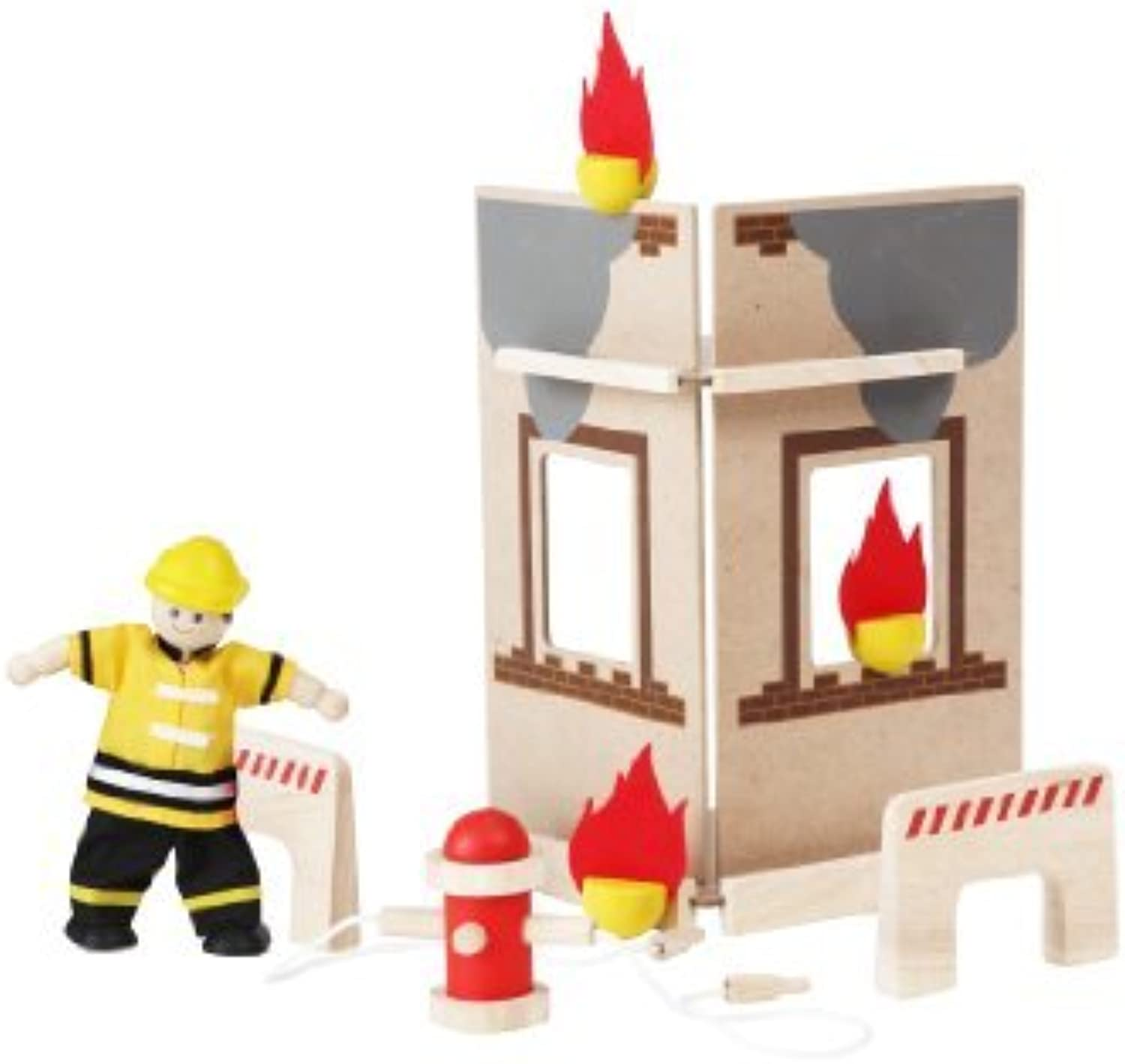 PlanToys PlanActivity Fire Engine Accessories by PlanToys
