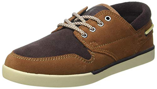 Etnies Herren Durham Skate-Schuh, Braun/Braun, 45.5 EU