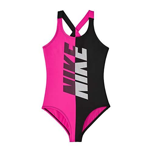 Nike Mädchen Rift Crossback Einteiler Badeanzug - Mehrfarbig - XL