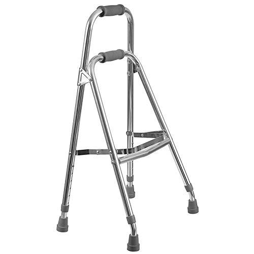 Duro-Med Folding Hemi-Walker provides Support, Aluminum, Silver