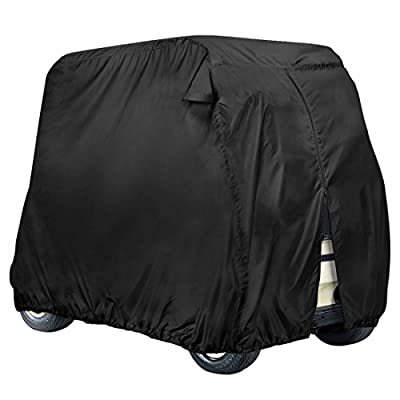 XGear Outdoors 4-Person Golf Cart Storage Cover with Zipper for easy access, Fits EZ Go, Club Car, Yamaha Drive