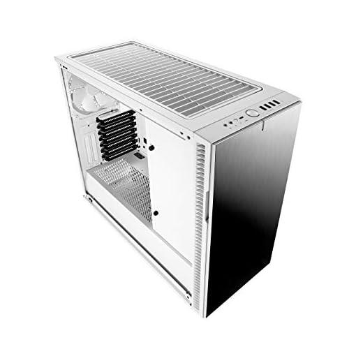 Fractal Design Define R6 USB-C Escritorio Blanco - Caja de ordenador (Escritorio, PC, Aluminio, Acero, Blanco, ATX,EATX… 4