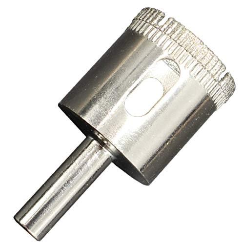 ShopXJ ダイヤモンドホールソー コアビット ガラス タイル 陶器 大理石 穴あけ 超硬 電動ドリル ドライバー ホールカッター (単品, 170mm)