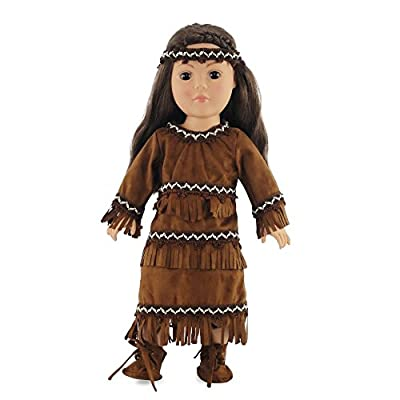 18 Inch Doll Clothes/clothing Fits American Girl ? Native American Outfit Fits Kaya 18? Dolls Plus Accessories
