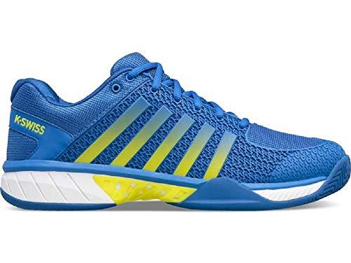 K-Swiss Men's Express Light Pickleball Shoe (Strong Blue/Neon Citron, 10)