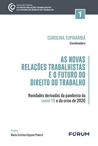 As Novas Relações Trabalhistas e o Futuro do Direito do Trabalho: Novidades derivadas da pandemia da covid-19 e da crise de 2020
